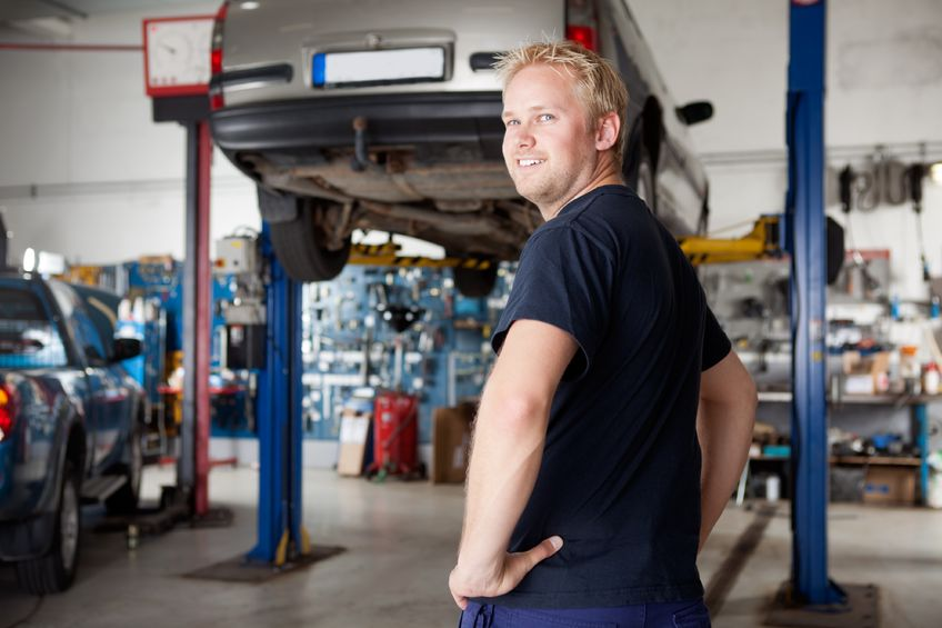 Cleaning Services for Auto Repair Shops and Vehicle Service Facilities