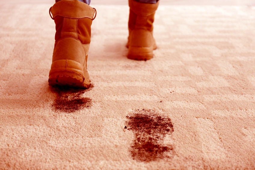 Red Dirt Stains on Your Businesses Floors?
